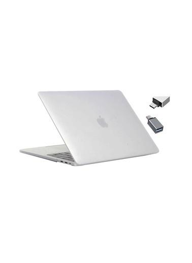 """Mcstorey Yeni MacBook Pro Type-c A1707 A1990 15.4"""" Kılıf Kapak Hard case Mat Renksiz"""